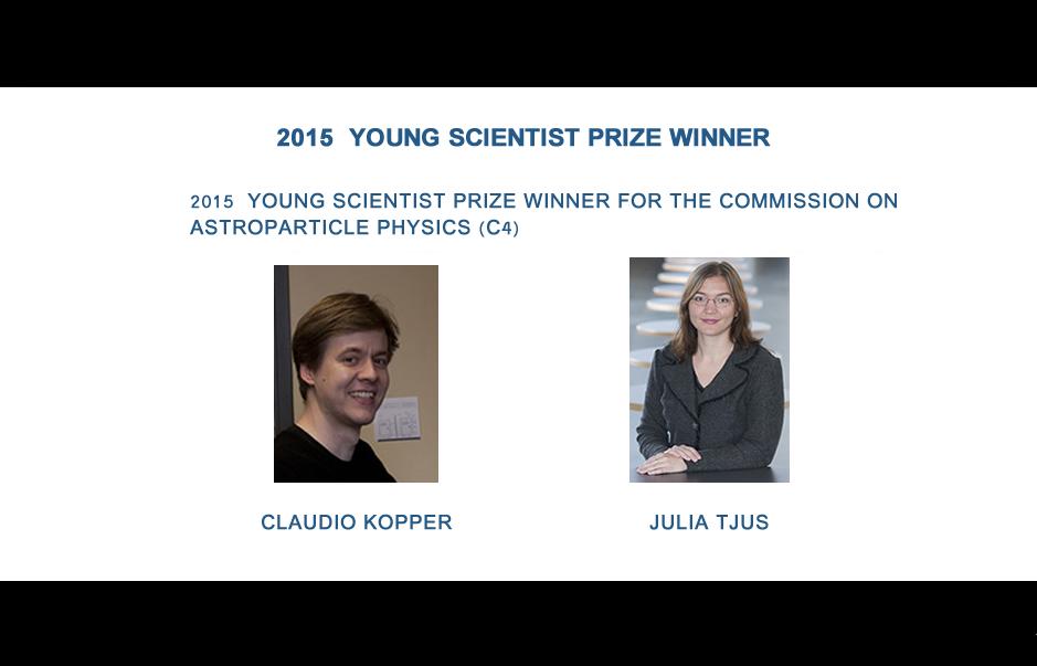 CLAUDIO KOPPER and JULIA TJUS