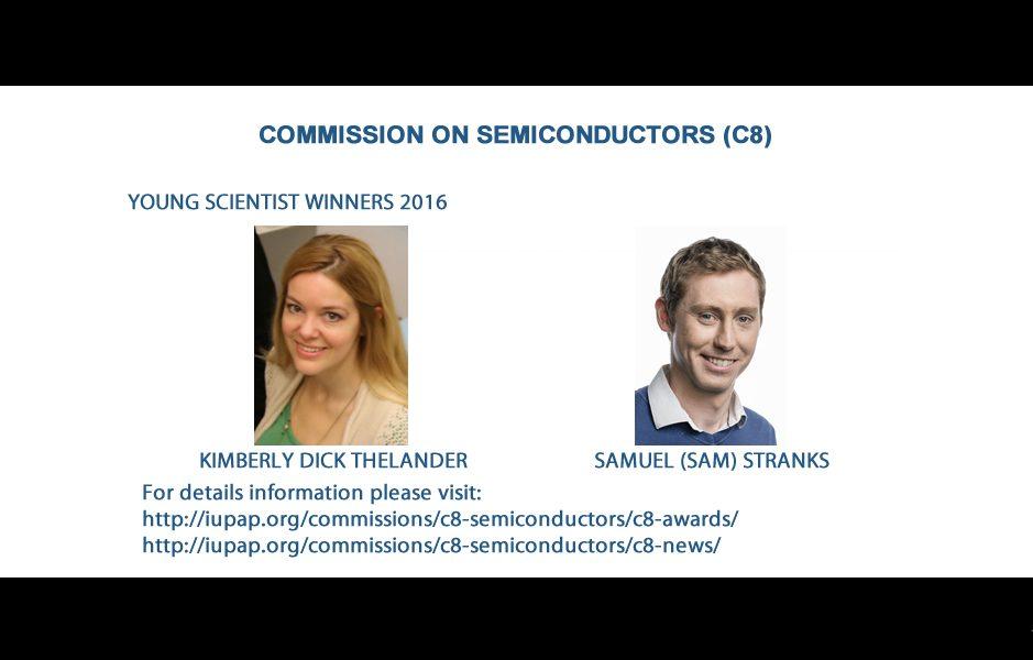 COMMISSION ON SEMICONDUCTORS (C8)
