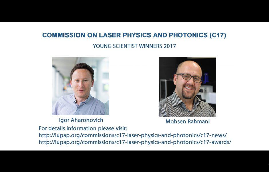 COMMISSION ON LASER PHYSICS AND PHOTONICS (C17) YSP 2017