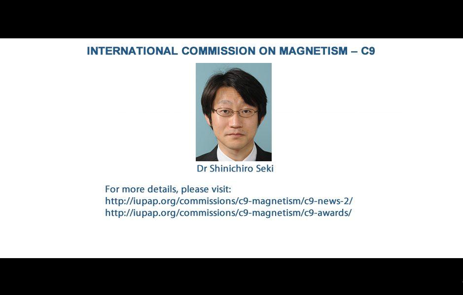 INTERNATIONAL COMMISSION ON MAGNETISM – C9