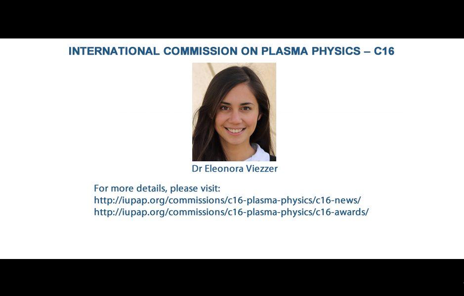 INTERNATIONAL COMMISSION ON PLASMA PHYSICS – C16