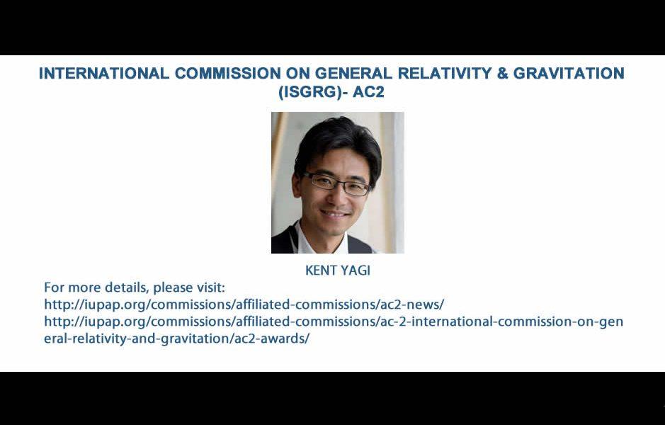 INTERNATIONAL COMMISSION ON GENERAL RELATIVITY & GRAVITATION (ISGRG)- AC2